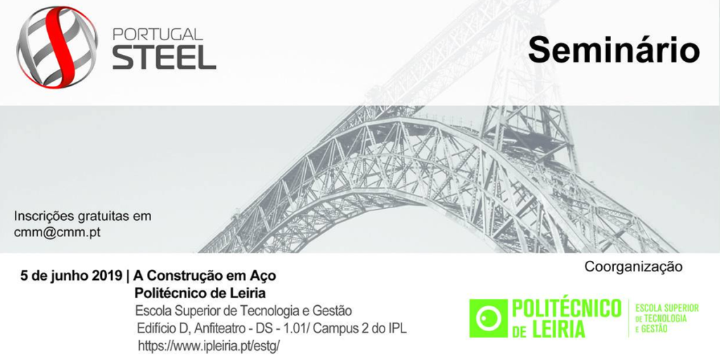 Seminário Portugal Steel no Politécnico de Leiria